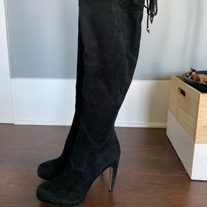 Size 8.5 Sam Edelman Over the Knee Boots